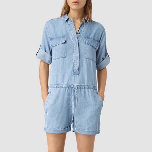 c98ec632268 NWT AllSaints Jura Playsuit US 00 UK 2